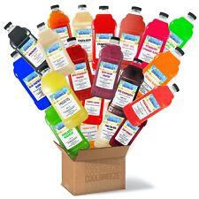 Coolbreeze Mix & Match Frozen Drink Flavor Syrups - Pick SIX Flavors
