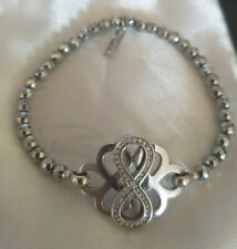 Jette Joop 925 Silber Armband Unendlichkeit Zeichen