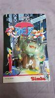Big Boss - the Adventures of T-Rex T Rex Figur Simba 1993 Moc Mosc Ovp