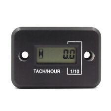 Inductive Digital Hour Meter Tachometer for Motorcycle ATV Marine Ski Gas Engine