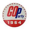 Vintage Go Party 1964 Political Campaign Pinback Pin Button