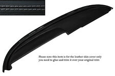 GREY STITCH TOP DASH DASHBOARD LEATHER COVER FITS BUICK LESABRE COUPE 1960