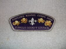 2000 SUFFOLK COUNTY  COUNCIL  CSP POPCORN KERNEL CORPS