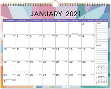 "Calendar 2021 - Monthly Wall Calendar with Thick Paper, 14.6"" x 11.5"", Jan - Dec"