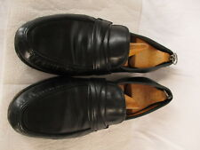 Allen Edmonds Bergamo Mens Black Loafers 11.5B