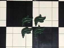 LEGO piuma verde scuro/PLUME x 4/Copricapo Accessorio/Regno/Cavaliere