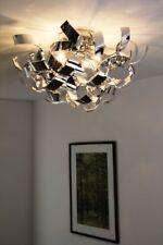 Design Deckenleuchte Chrom Leuchte Deckenlampe Deckenstrahler Lampe Leuchten NEU