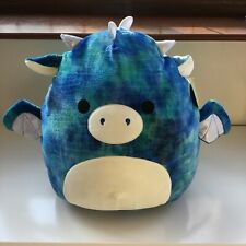 Kellytoy Squishmallow LARGE 16in Dominic the Dragon NEW WITH TAGS cushion
