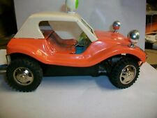 Vintage Tin Dune Buggy myers orange remote control JAPAN RC Bandai ??