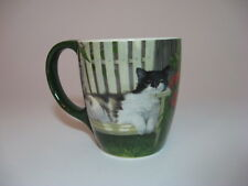 Ceramic Cat Feline Coffee Coco 12 Ounce Mug Colorful Matching Gift Box Lang New