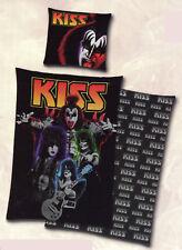 Bettwäsche KISS - 135x 200cm + 80x 80 cm - 100% Baumwolle - Rockmusik Band