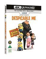 Despicable Me 4K UHD + Blu Ray (Region Free)