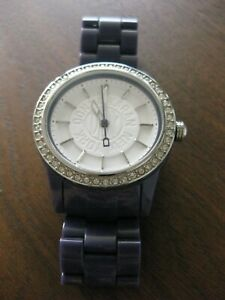 DKNY Large Purple Watch Stainless Steel - Excellent Condition