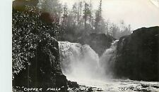 Wisconsin, WI, Mellen, Copper Falls, State Park Real Photo Postcard