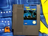 Milon's Secret Castle Nintendo NES Authentic Tested Cartridge Hudson Soft