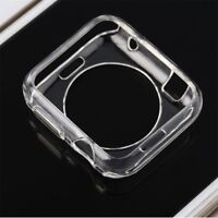 For Apple Watch Series 4/3/2/1 40/44mm Case Cover Protector TPU Rubber Bumper US