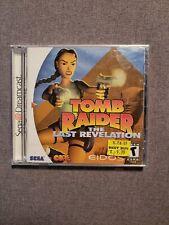 New listing Tomb Raider: The Last Revelation Sega Dreamcast Dc Brand New Sealed