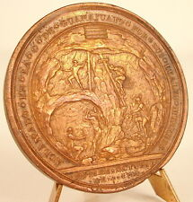 Médaille colonie Carlos IV minero de Guanajuato Mexico Mineur Espagne 1790 medal