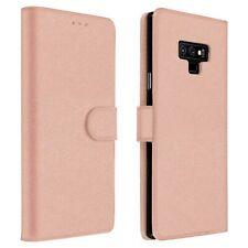 Funda Vintage Samsung Galaxy Note 9 Billetera F. Soporte - Oro rosa