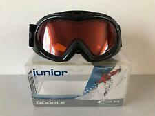 Tog 24 Junior Rascal Black & Orange UV400 Winter Snow Sports Ski Googles Mint !