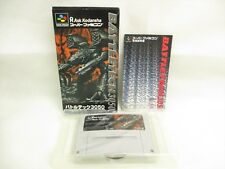 BATTLETEC 3050 Battle Tec Item Ref/2095 Super Famicom Nintendo Japan Game sf