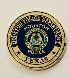 Brand New-Sought After-Houston Police-Homicide Division -Police Challenge Coin