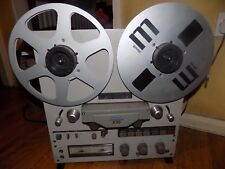 Vintage retro Teac x-10 reel to reel tape recorder tape deck