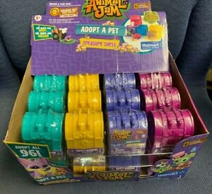 Adopt A Pet Treasure Chests Mystery Case Animal Jam - 24 Ct.