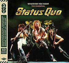 Status Quo - Whatever You Want: The Essential... (2016)  3CD  NEW  SPEEDYPOST