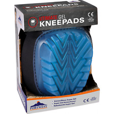 Portwest KP40 Black / Turquoise Ultimate Gel Knee Pads