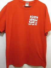Keith Urban Raise Em' Up 2014 Concert Tour Local Crew Red T Shirt Adult Xl