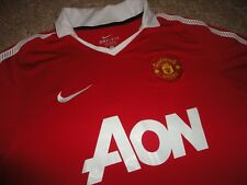 Authentic EPL Nike Manchester United Football Soccer Blank Jersey Shirt Size L