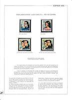 LOTE DE SELLOS 108 ( PROCLAMACION JUANCARLOS I REY DE ESPAÑA )