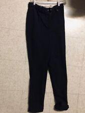 Miller'S Jodhpurs *Sz 30 Ladies *Black * Vgc w/Cuffs Winter Weight