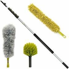 DocaPole 30 Foot High Reach Dusting Kit with 6-24 Foot Extension Pole / Clea.