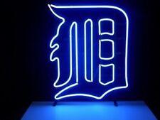 "New Detroit Tigers Neon Light Sign 24""x20"""