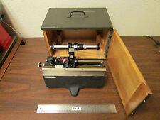 Cenco, Central Scientific, Visual Vernier Unit Microscope In Original Box