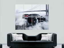 CHEVROLET CORVETTE Poster voiture Bridge City smoke Racing Mart énorme grand mur