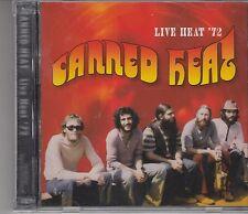 Canned Heat - Live Heat 1972, 2CD Neu