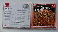 CD Album VERDI Choeurs d opéras SCALA DE MILAN RICCARDO MUTI 7243 4 71940 2 3