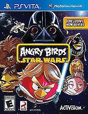 Angry Birds Star Wars Playstation PS Vita, Activision PSV New Free Shipping!