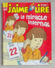 j'aime lire 344 Le miracle infernal