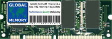 128MB SDRAM 100-PIN SODIMM PRINTER RAM ( MD-128 , C9121A , Q9121A , Q7709A )
