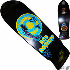 "SANTA CRUZ Rob Roskopp ""Target 2"" Skateboard Deck Black Phillips Re-issue"
