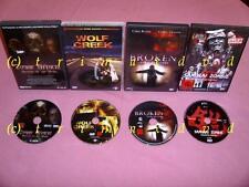4 DVD's _ Wolf Creek & Samurai Zombie & Broken Engel des Todes & Zombie Attack!