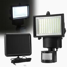 100LED Solar Lampe Außenleuchte mit Bewegungsmelder Wandleuchte Strahler HD