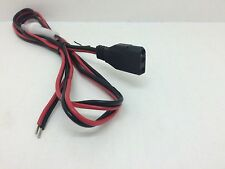 Globe Roamer Uniden 3 Pin 12 Volt DC Power Cable for UH001 UH077 UHF CB Radios
