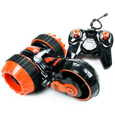 Car Double Side 360° Roll Round Motorcycle Tumbling Extreme Remote Control