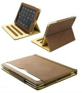 S-Tech iPad Case 5th Generation 9.7 Soft Leather Magnetic Smart Cover For Apple
