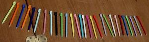Nintendo DS Lite Stylus - VARIETY OF COLORS - BRAND NEW WITHOUT PACKAGING